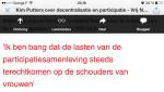 Uitspraak Kim Putters Vrij Nederland 2014