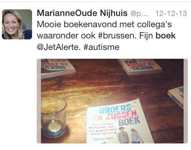 Waar een boekenavond al niet toe kan leiden: 28 oktober brengt Anjet een bezoek aan dolfijntherapie stichting SAM. In Harderwijk natuurlijk!